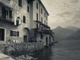 Lombardy  Lakes Region  Lake Como  Santa Maria Rezzonico  Lakeside Houses  Italy