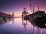Massachusetts  Boston  Sail Boston Tall Ships Festival  Tall Ships by World Trade Center  USA