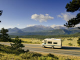 Trail Ridge Road  Rocky Mountain National Park  Estes Park  Colorado  USA