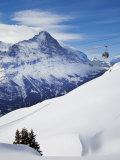 Eiger  Grindelwald  Jungfrau Region  Bernese Oberland  Switzerland