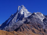 Fishtail Peak of Machhapuchhare  Nepal
