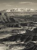 Utah  Moab  Canyonlands National Park  Buck Canyon Overlook  Winter  USA