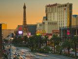 Nevada  Las Vegas  the Strip  USA