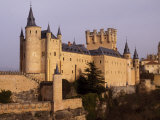 Segovia's Alcazar  or Fortified Palace  Originally Dates from the 14th and 15th Centuries