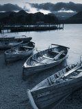 Rowing Boats  Derwent Water  Lake District  Cumbria  UK