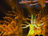 Tang Dynasty Dance and Music Show at the Sunshine Grand Theatre  Xian City  Shaanxi Province  China