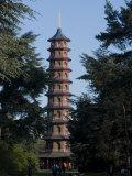 Pagoda  Royal Botanic Gardens  Kew  Surrey