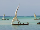East Africa  Tanzania  Zanzibar  A Traditional Dhow  India  and East Africa
