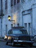 Colonia Del Sacramento  Old 1960S Studebaker Lark Car on Calle San Jose  Uruguay