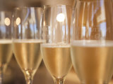 Mendoza Province  Lujan De Cuyo  Bodegas Norton Winery  Wineglasses in the Tasting Room  Argentina