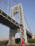 Little Red Lighthouse  George Washington Bridge  New York City