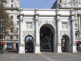 Marble Arch and Oxford Street  London  England  United Kingdom  Europe