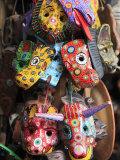 Masks  Handicraft Market  Antigua  Guatemala  Central America
