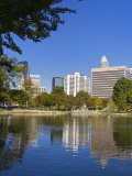 Marshall Park  Charlotte  North Carolina  United States of America  North America