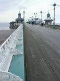 Promenade Off North Pier  Blackpool  Lancashire  England  United Kingdom  Europe