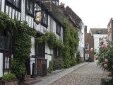 Mermaid Inn  Mermaid Street  Rye  Sussex  England  United Kingdom  Europe