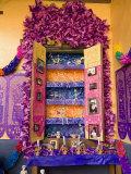 Altar  Day of the Dead  Patzcuaro  Michoacan State  Mexico  North America