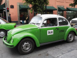 Volkswagen Taxi Cab  Mexico City  Mexico  North America