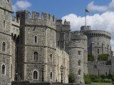 Windsor Castle  Windsor  Berkshire  England  United Kingdom  Europe