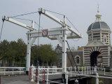 West Gate and Bridge  Leiden  Netherlands  Europe