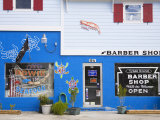Seafood Store and Barber Shop on Tybee Island  Savannah  Georgia