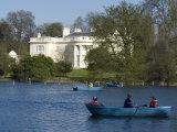 Boating Lake  Regent's Park  London  England  United Kingdom  Europe