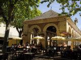 Market Hall  Lalinde  Dordogne  France Europe