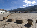 The Colonial Town of Villa De Leyva  Colombia  South America