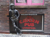 Statue of John Lennon Close to the Original Cavern Club  Matthew Street