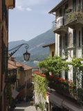 Street in Bellagio  Lake Como  Lombardy  Italy  Europe