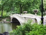 Bow Bridge  Central Park  Manhattan