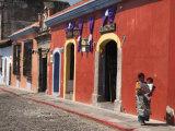 Colonial Buildings  Antigua  Guatemala  Central America