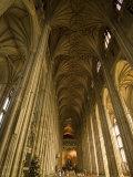Interior  Canterbury Cathedral  Canterbury  Kent