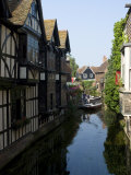 The Weaver's House on the River Stour  Canterbury  Kent  England  United Kingdom  Europe