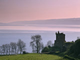 Urquhart Castle  Strone Point on the North-Western Shore of Loch Ness  Inverness-Shire