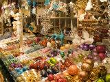 Christmas Decorations at Stall  Christkindlmarkt at Rathausplatz  Innere Stadt