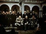 Big Three Conference  Yalta  February 1945  Photograph