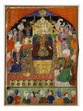 Court Scene from Shahnama  14th century Iran Timurid Period