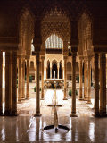 Court of the Lions  14th century  Alhambra Palace  Spain