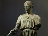 The Charioteer of Delphi  Bronze  c 478 BC Archaic Greek
