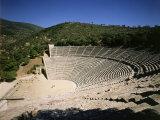 The Theatre at Epidauros  4th century BC Classical Greek