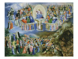 Last Judgement  Copy of Version by Fra Angelico (1387-1455)
