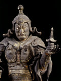 Bishamon-ten  King-guardian of the North  Lacquered Cypress Wood  early 13th century