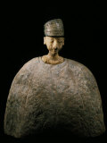 Large Idol with Green Cap  Schist or Lapis-lazuli  Bactrian  Afghanistan  c2500-2000 BC