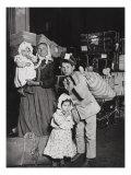 Italian Immigrants Arriving at Ellis Island  New York  1905