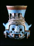 Tlaloc  Rain God  Vase  Aztec  Mexico