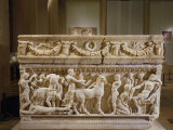 Priam Kneeling before Achilles Asking for the Body of Hector  Marble  2nd century AD  Roman
