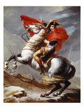 Napoleon Bonaparte  1769-1821  Emperor of the French  Crossing the Alps