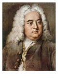 George Frideric Handel  1685-1759 German composer