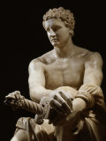 Achilles  Marble Sculpture Known as the Ludovisi Ares (c4th century BC - 1st century BC)